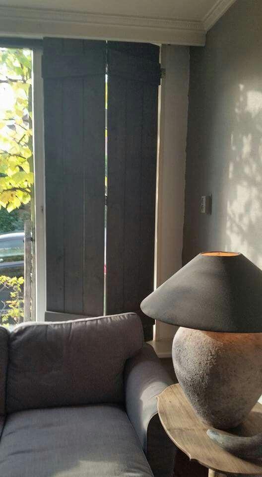 Super Binnen luiken - Rustic | Pinterest - Binnen luiken, Luiken en  FS91
