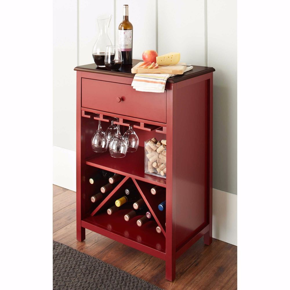 Chatham House Baldwin Wine Cabinet In Red Handsomely Designed New Stylish Chatham Wine Storage Cabinets Wine Cabinets Wine Rack Cabinet