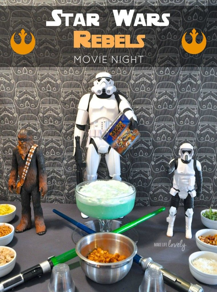 Star Wars Rebels Movie Night Star wars rebels, Star wars