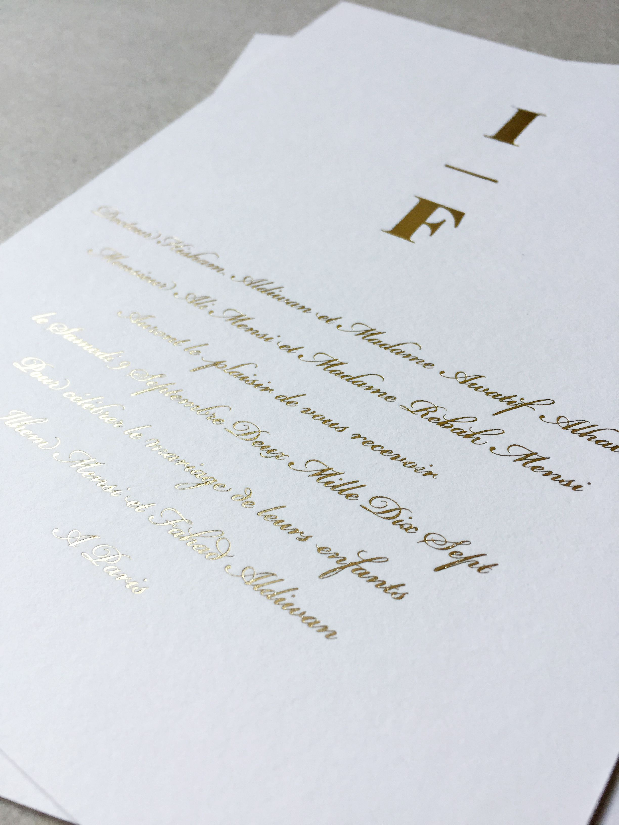 Gold Foil Invitations Gold Foil Invitation Foil Invitations Dots