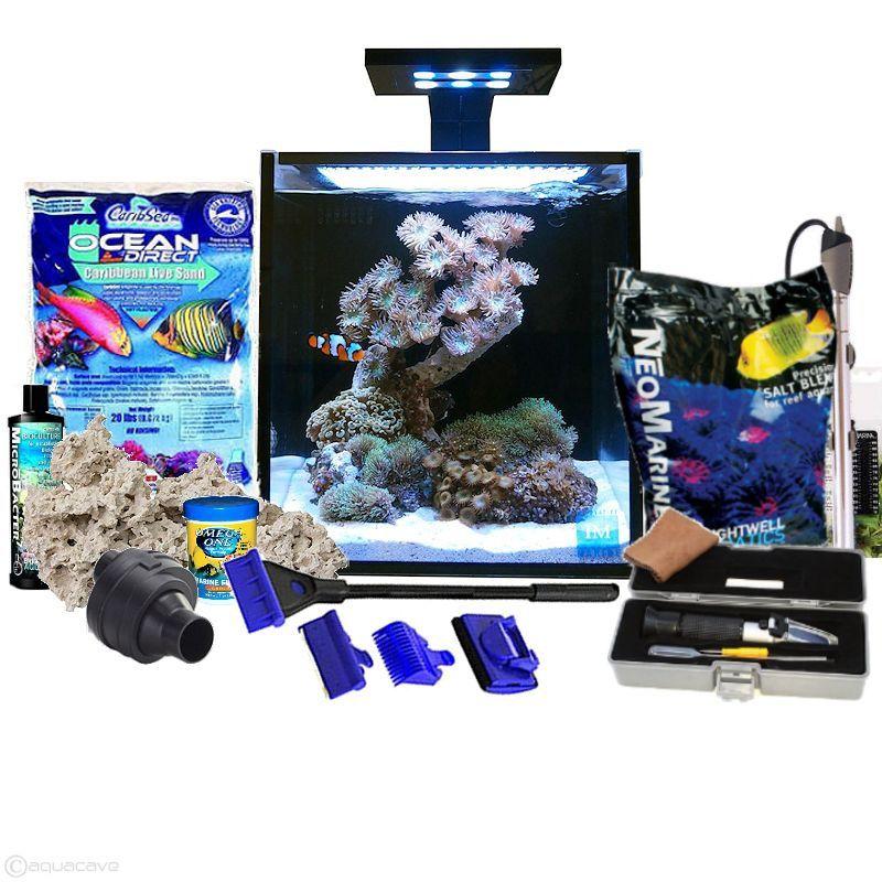 Innovative Marine Fusion 10 Complete Saltwater Reef Starter Kit Starter Kit Saltwater Saltwater Aquarium