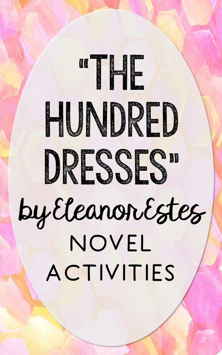 worksheet The Hundred Dresses Worksheets the hundred dresses novel unit study activities book companion worksheets