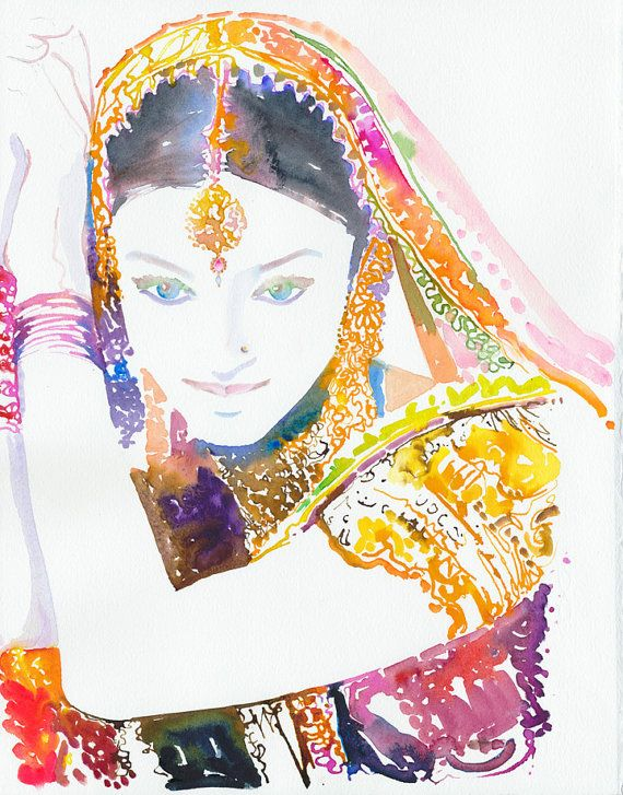 Epingle Sur Indian Fashion Illustrations