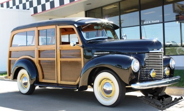 1948 International KB-1 Woody Station Wagon