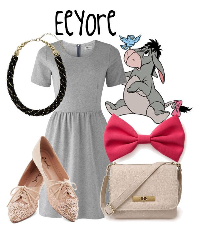 """Eeyore"" by evil-laugh ❤ liked on Polyvore featuring People Tree, Forever 21, Miss Selfridge and eeyore"