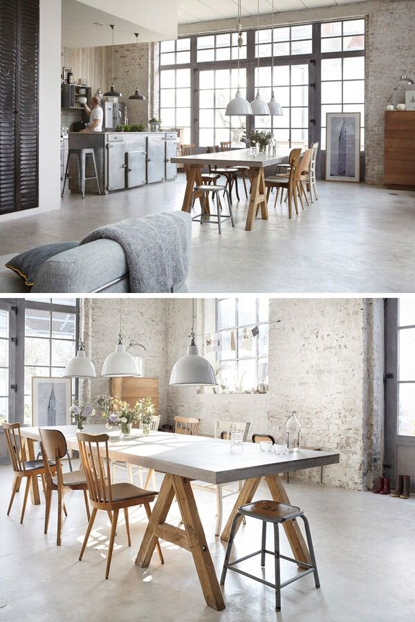 An old factory in lille farm house e for Appartamento design industriale