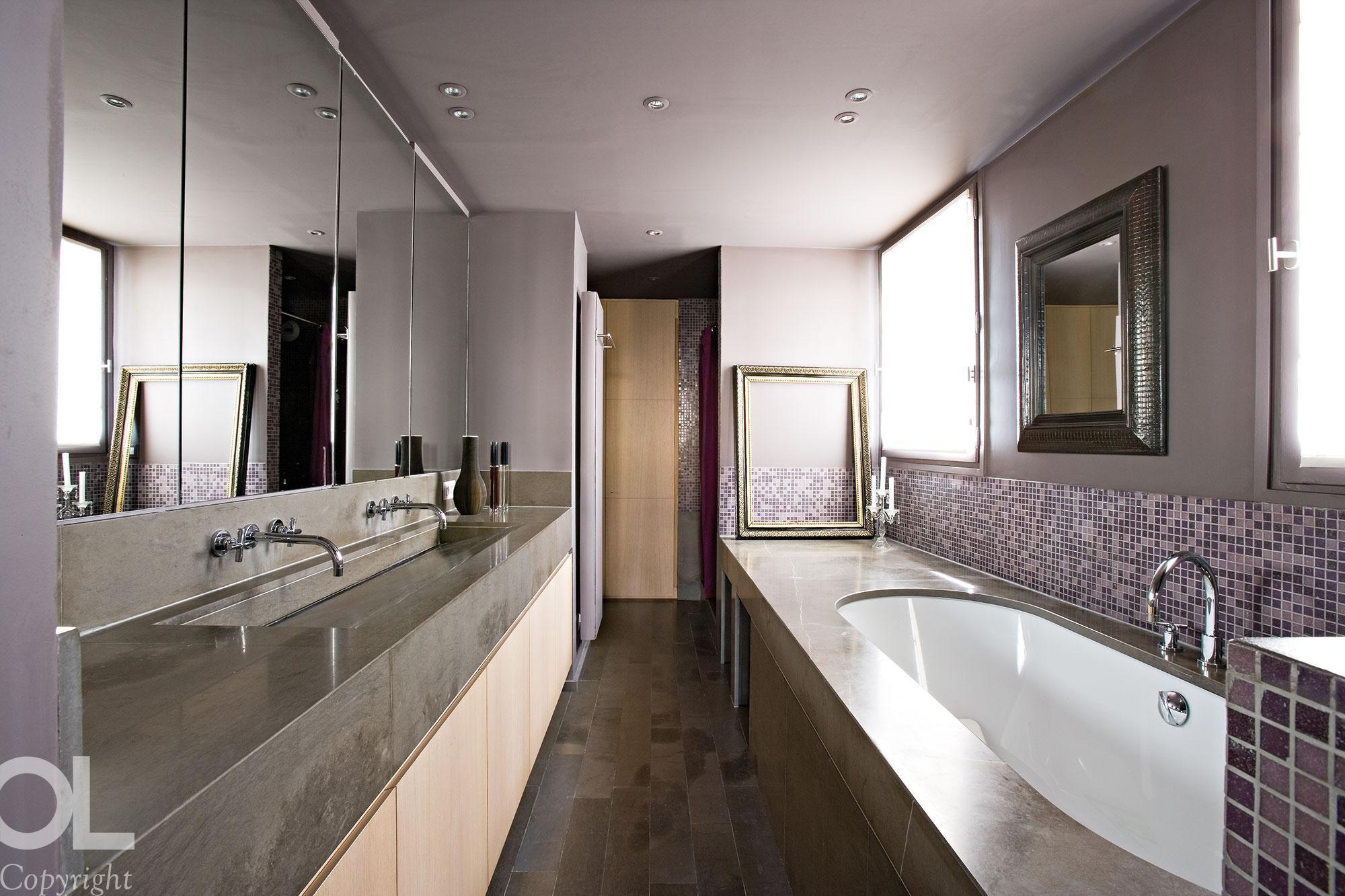 Meuble Salle De Bain Twist ~ H L Ne Et Olivier Lempereur Architecture D Int Rieur Projets De
