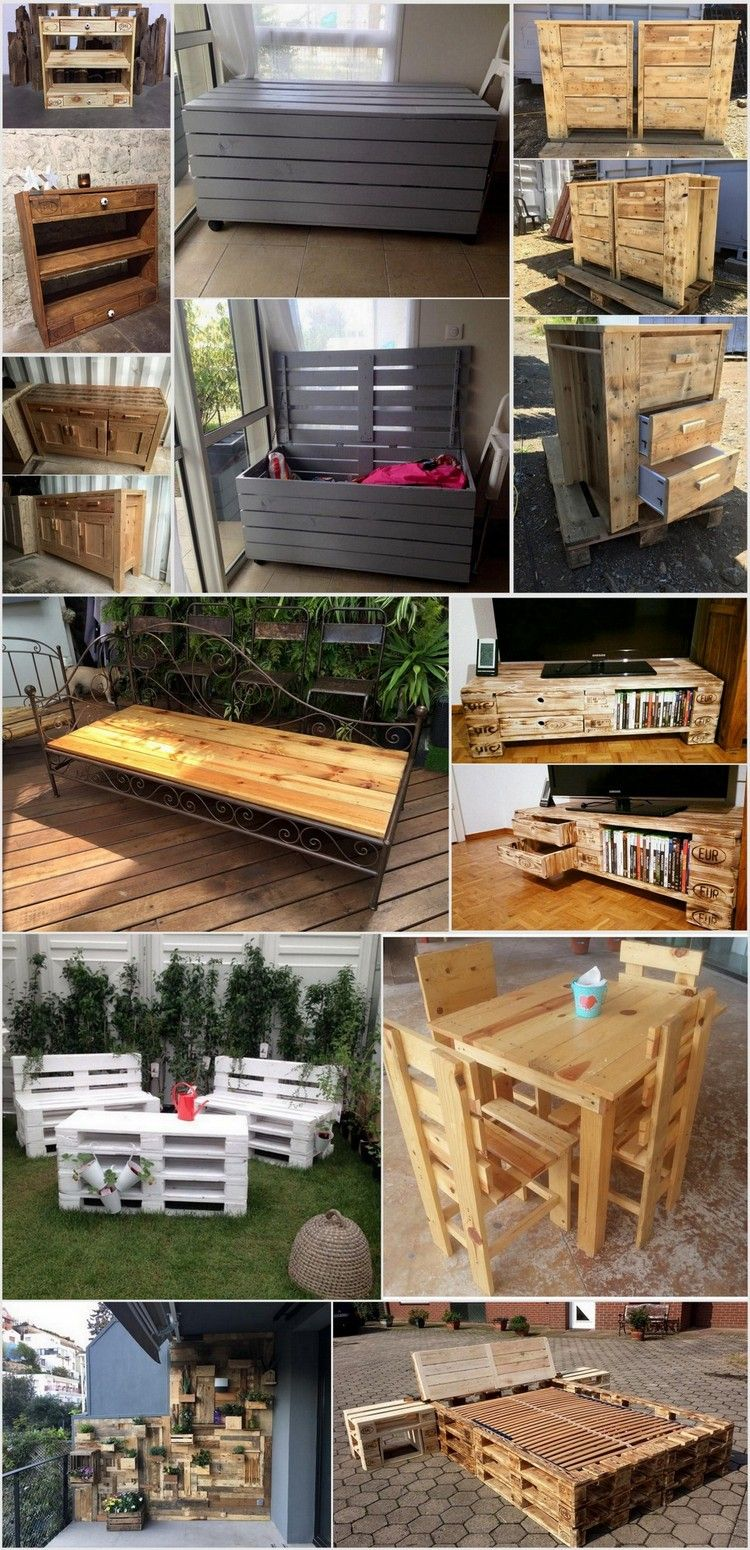 Diy pallet bedroom furniture awesome recycled wood pallet projects  pallet projects wood