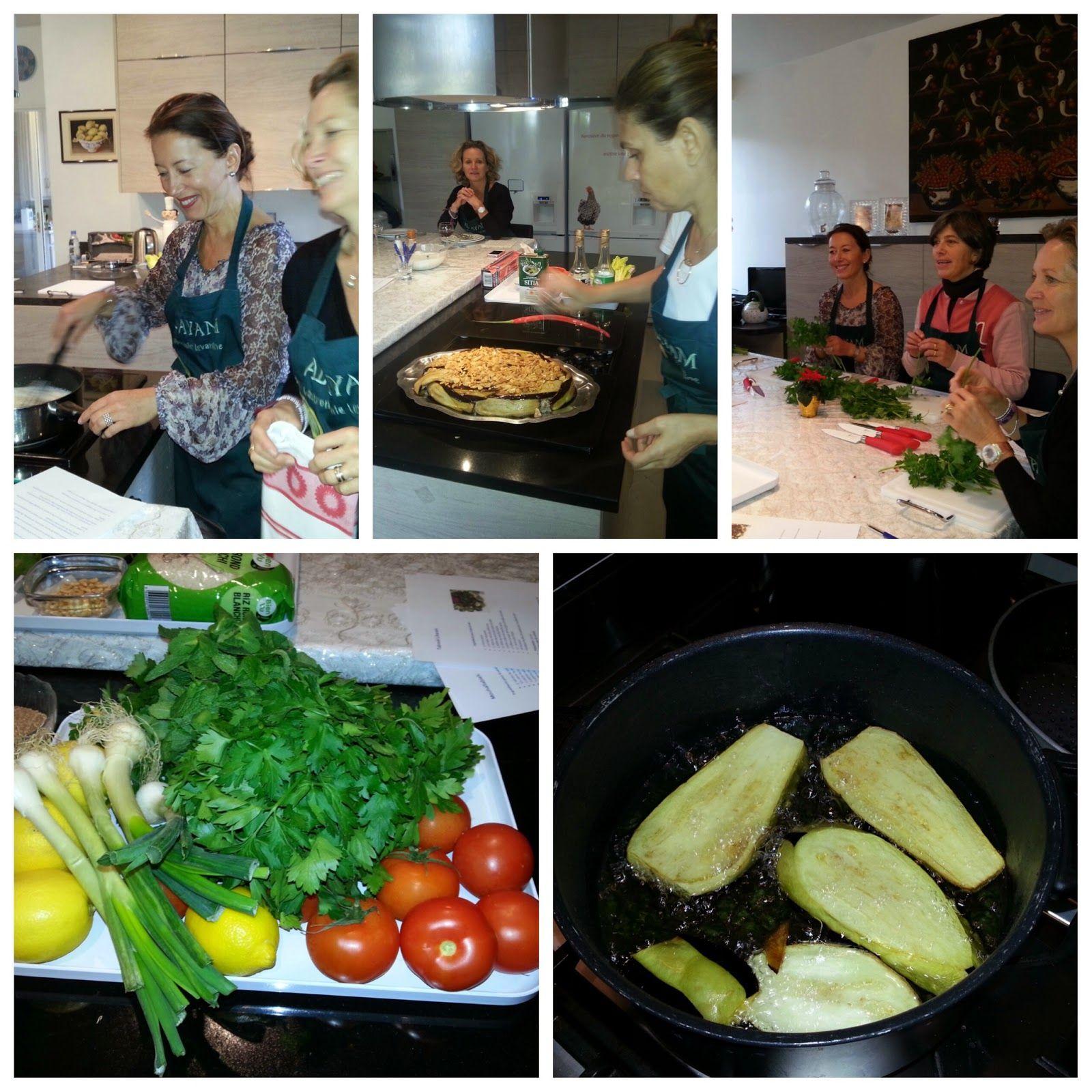 Cours de cuisine levantine chez Al Ayam