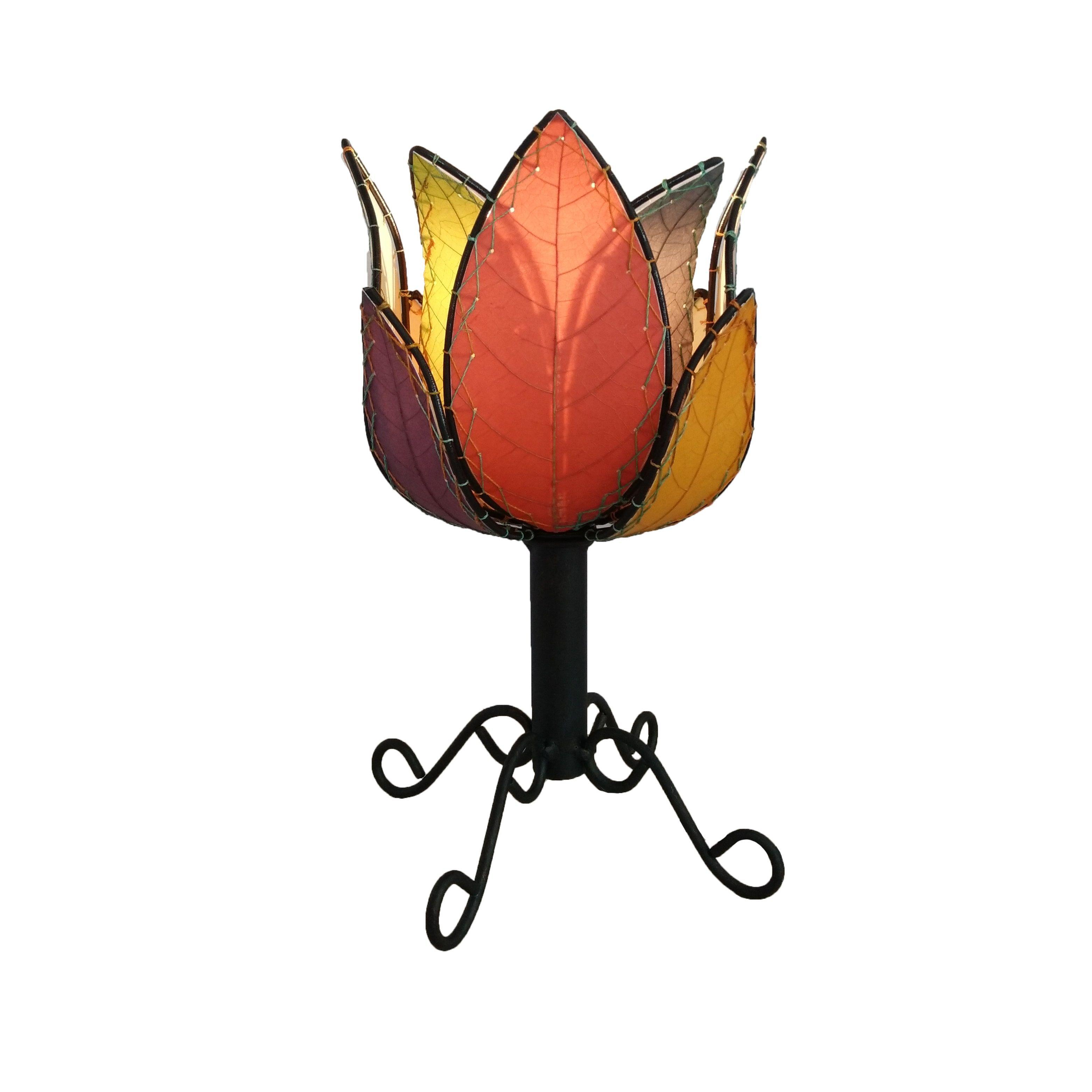 Eangee Handmade Outdoor Lotus Table Lamp