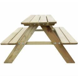 Picknicktische Picknicktisch Holzbank Garten Und Kinder