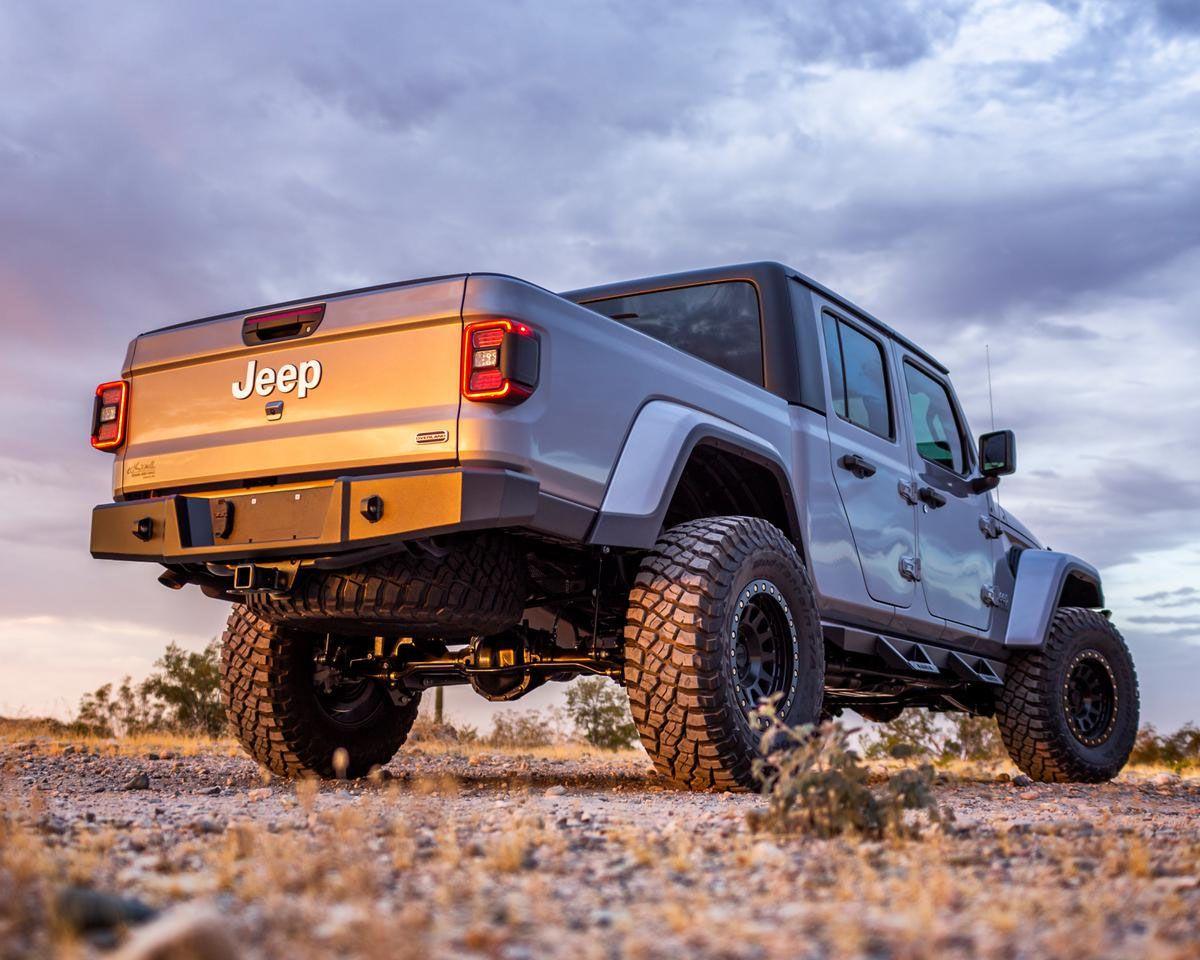 Magnum By Raptor Series Rbm06jpn Rear Bumper For 2020 Jeep Gladiator Jt Jeep Gladiator Jeep Gladiator