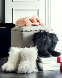 3d97ddaf352 Ugg fluff momma mongolian collection. The boots height will only be ...