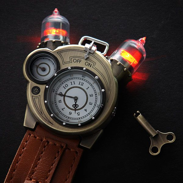 Tesla Watch - cool steampunk watch at a reasonable price! what's not to love!