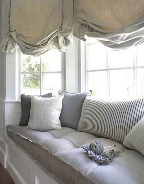 50 Excellent Bay Window Seat Examples For Your Recess Spot Window Seat Design Designer Window Treatments Home