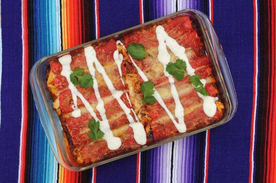Recipe hidden valleys ranch dressing enchiladas with