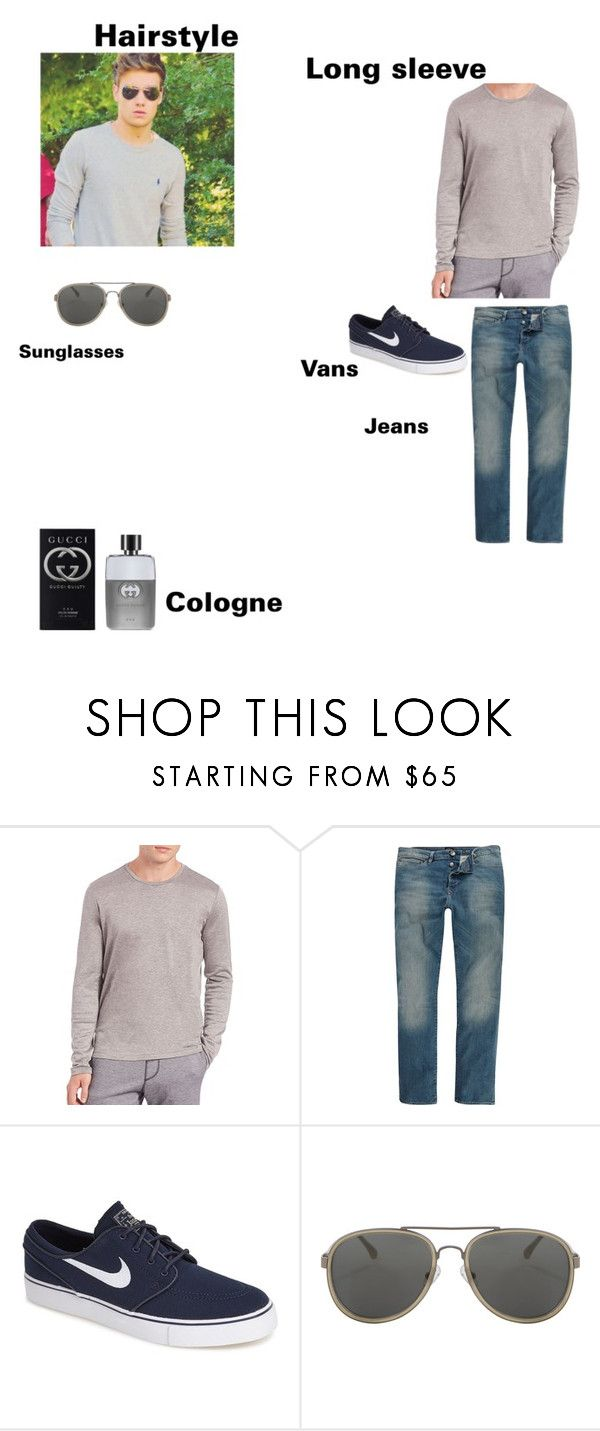 7f53dbaed ... on Polyvore featuring Payne, Saks Fifth Avenue Collection, River  Island, NIKE, Dries Van Noten, Gucci, mens, men, men's wear and mens wear