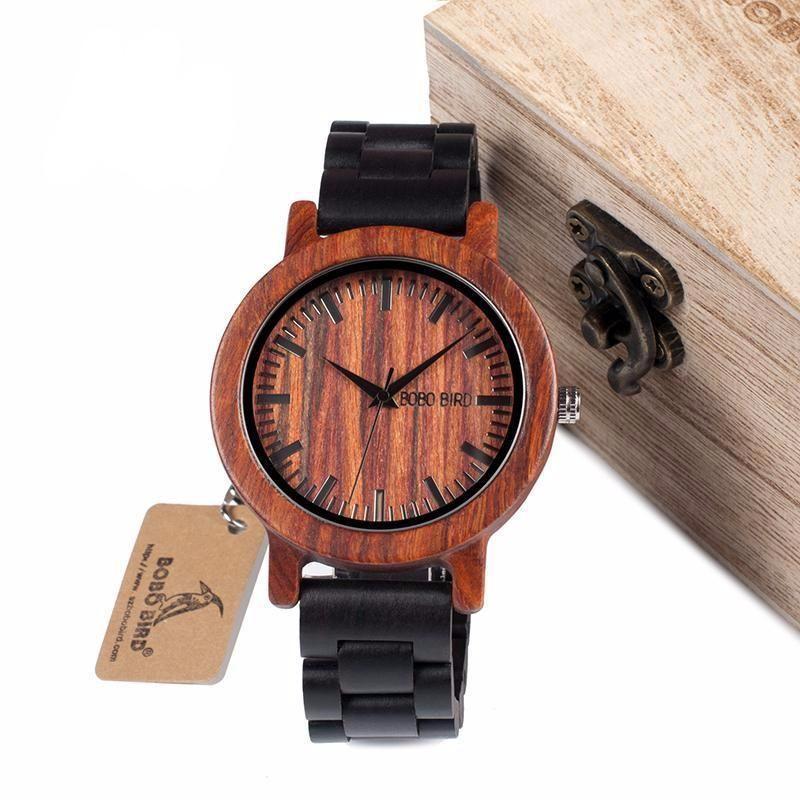 """Sandalwood Scale"" Watch"