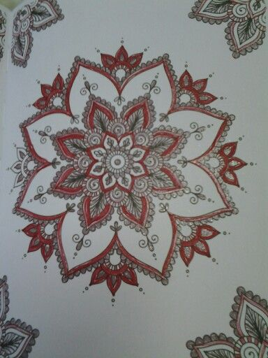 Mandala pintada