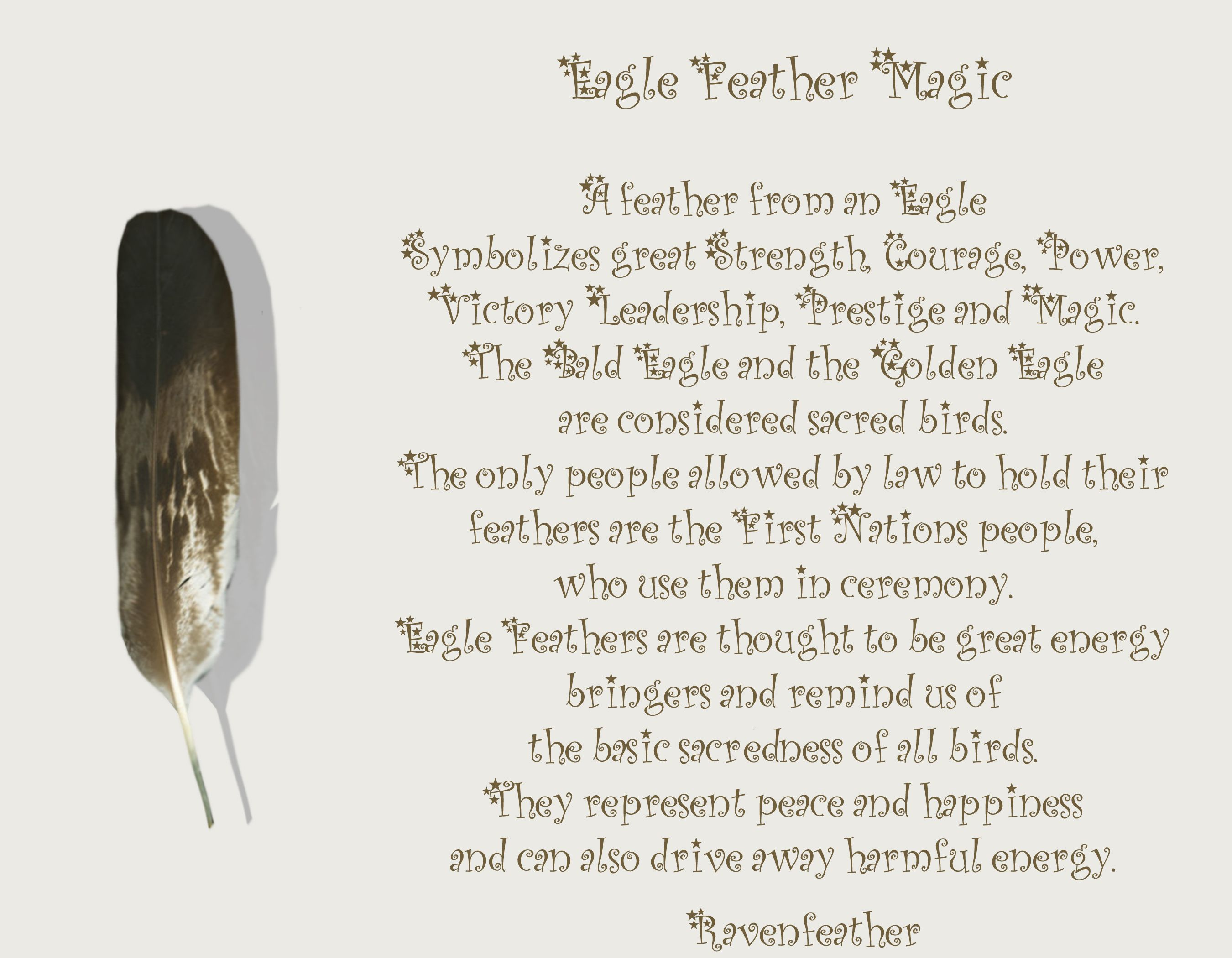 New Version Of Eagle Feather Magic Please Check Your Local And