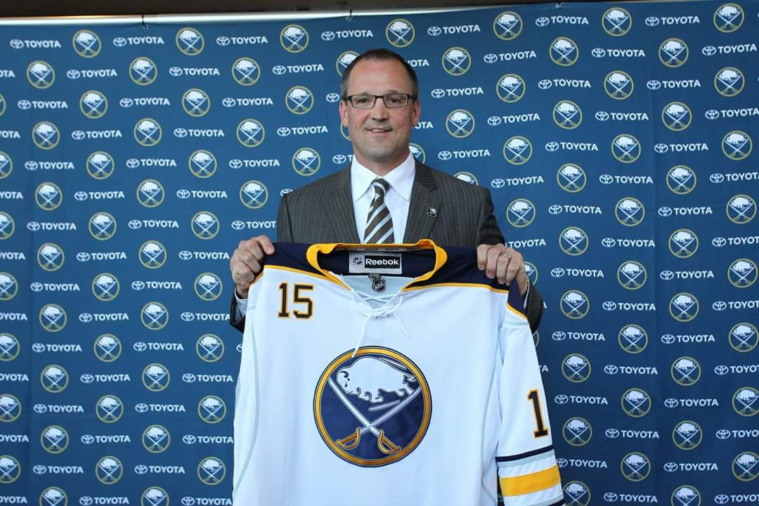 Dan Bylsma, new coach of the Sabres May 2015 World