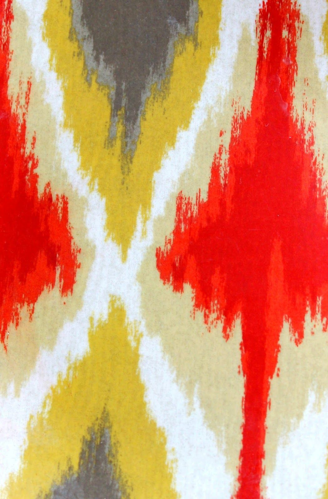 DIY Ikat Canvas Tutorial | Canvases, Tutorials and Paintings