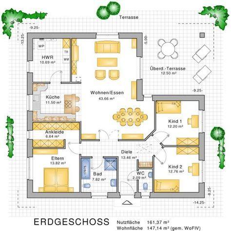 bungalows barrierefreies wohnen auf einer ebene bauunternehmen nagelbau gmbh bungalow. Black Bedroom Furniture Sets. Home Design Ideas