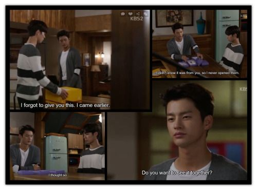 1x15  Min is up when Hyun returns. He forgot to give him a package that came earlier. Hyun suggests that they see it together. It's the messages Min sent to him on his earlier visits to Korea. Hyun didn't know it was from Min so he never opened them. Min guessed that. They are tokens of missing bodies. Could Hyun have prevented the murders?