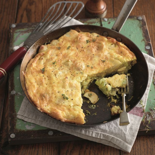 Potato cheese and leek tortilla a delicious recipe from the new foods forumfinder Gallery