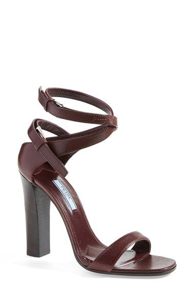 31c5f8d9c Prada Double Ankle Strap Sandal (Women) available at  Nordstrom ...