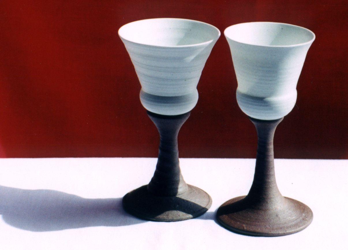 Porcelain And Stoneware Wine Goblets Wine Cups Ceramic Wine Goblets Ceramic Set