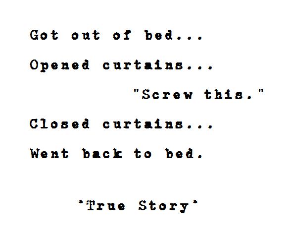 True Story! ٩๏̯͡๏)۶