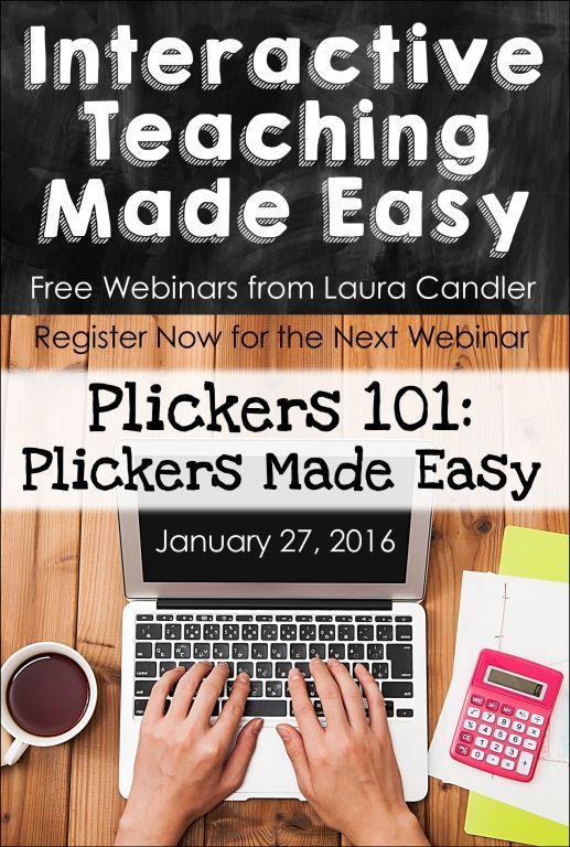 Webinars For Teachers Plickers Technology Lesson Plans Jobs For Teachers