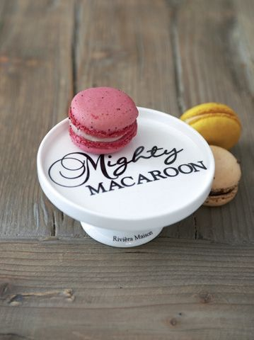Die Mighty Macaroon Etagere von Rivièra Maison. Erhältlich bei www.villa-riviera.de !