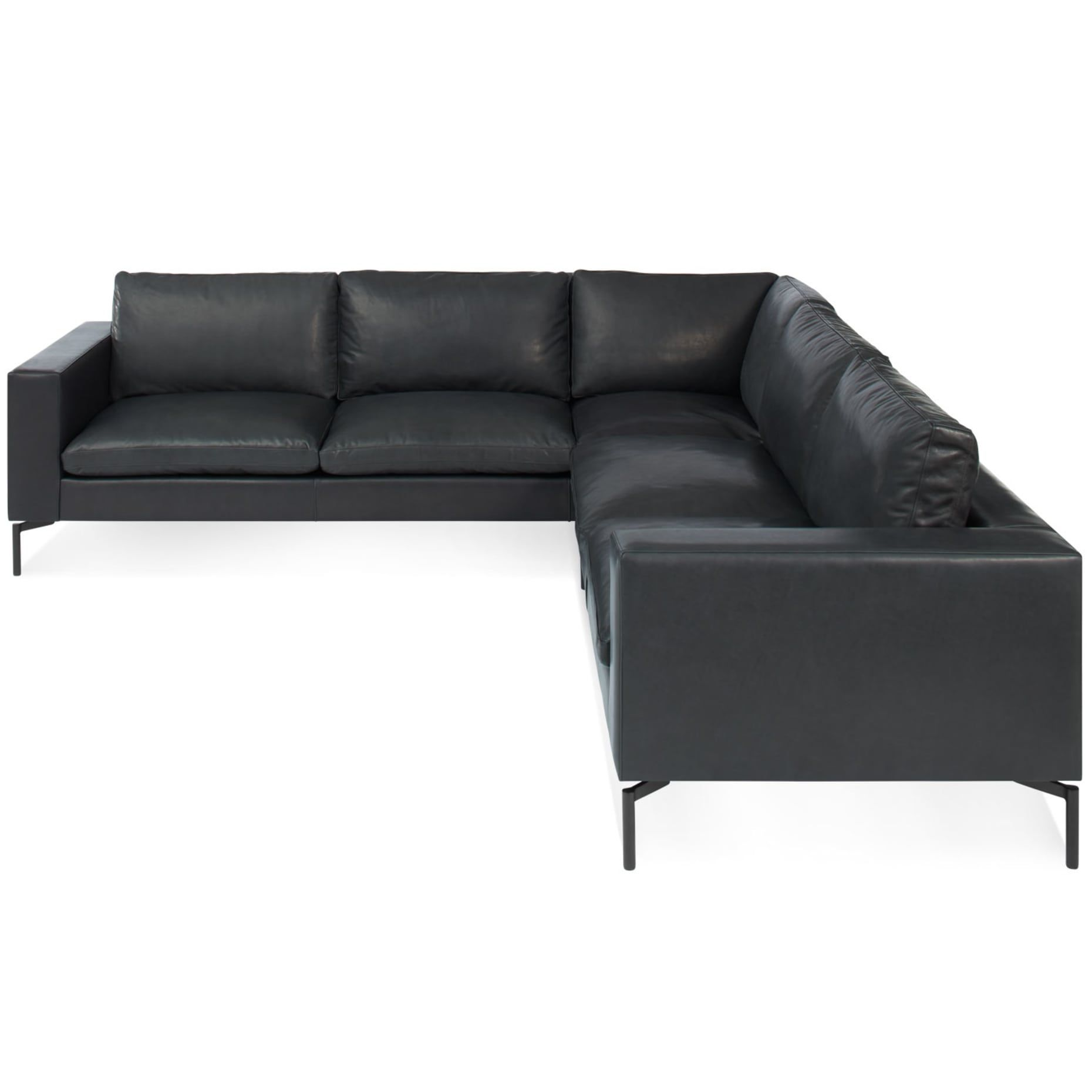New Standard Left Sectional Sofa Small Sectional Sofa Leather