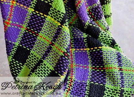 Crochet Tartan Blankets | Tartan Blanket | Crochet and afghan ideas ...