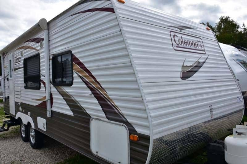2011 Coleman Ct250gs For Sale Medina Oh Rvt Com Classifieds Travel Trailer Rv For Sale Medina