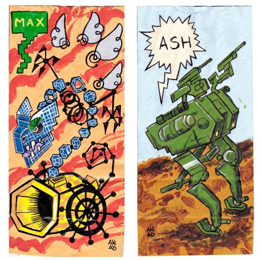 20171117 #sketchlunchbag for my kids. #art #drawing #Anadart#MarioBros #SuperPaper Mario #Bonechill #MetalGearSolidV#ThePhantomPain #DWalker #Videogame #PS4 #lunchbagart #sketch #art#doodle #Anad #PC #WiiU #Nintendo #Switch #XBox