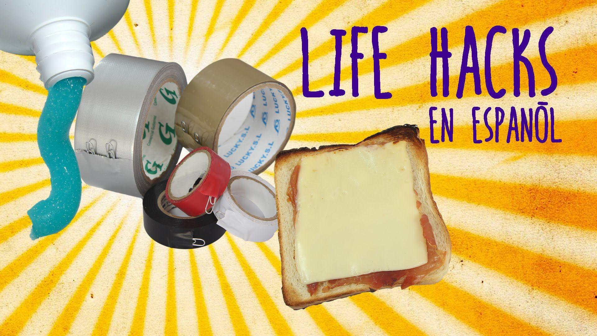 3 Life Hacks en Español #9 - Hacks en la vida real