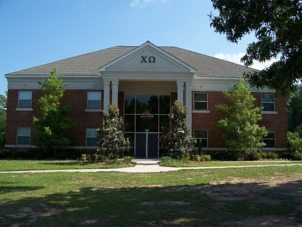 Chi Omega At South Alabama One Of My Fav Places I Ve Ever Lived