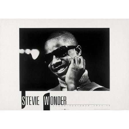 (20x28) Stevie Wonder Smiling Music Poster Print #ad