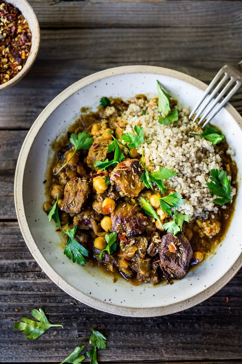 Instant Pot Middle Eastern Lamb Stew | Feasting At