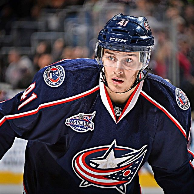 2 989 Likes 36 Comments Columbus Blue Jackets Bluejacketsnhl On Instagram Alexander Wennberg A Bre Columbus Blue Jackets Blue Jacket Hot Hockey Players