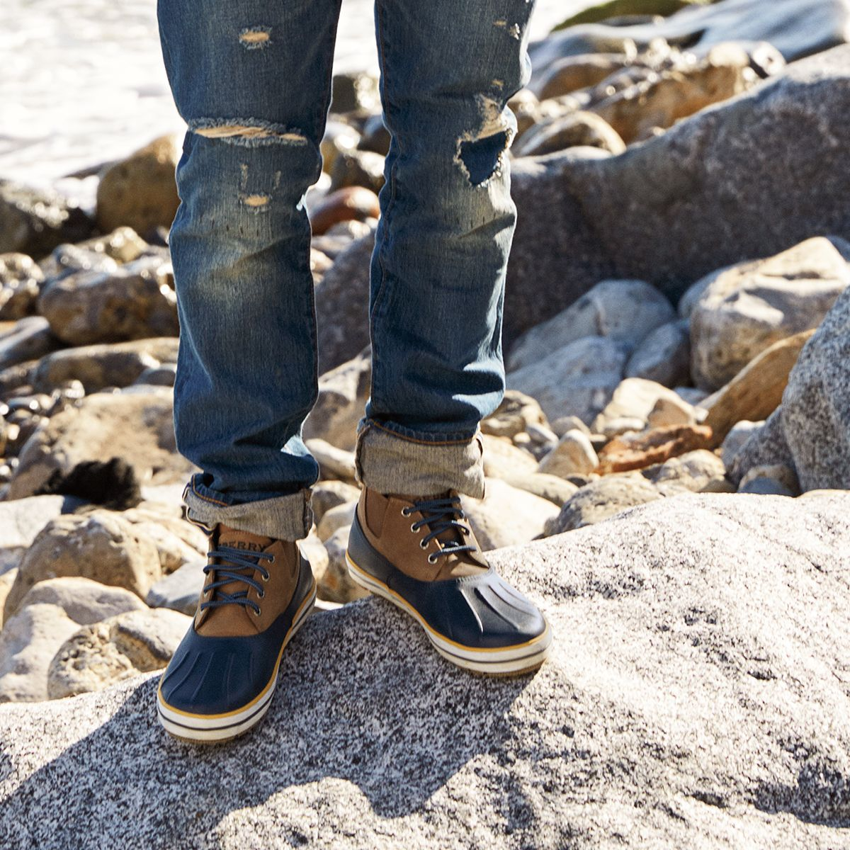 The Fowl Weather Chukka - embrace the elements. #sperry #boots ...