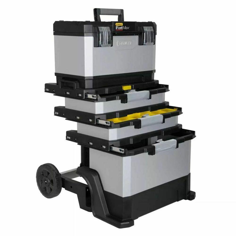Ebay Sponsored Stanley Servante A Outil Roulant Chariot A Outils Fatmax En Plastique 1 95 622 Werkzeugkoffer Werkzeugwagen Werkzeugkasten