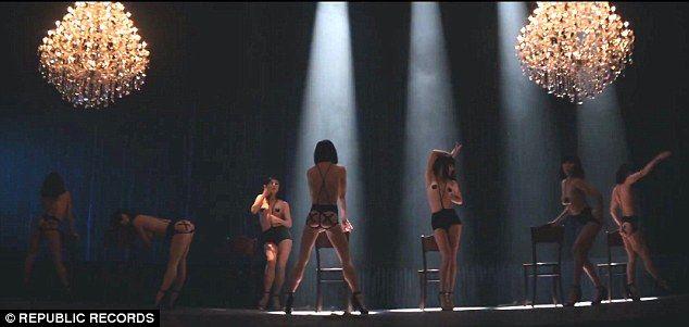 Bare dancing girls video, black chicks bikini