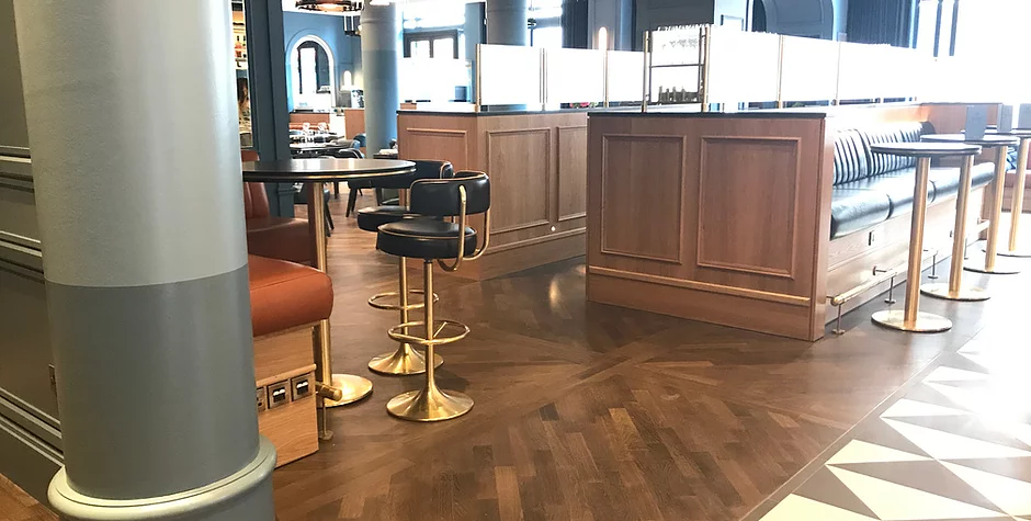 Floor Refinishing Service London, UK French parquet