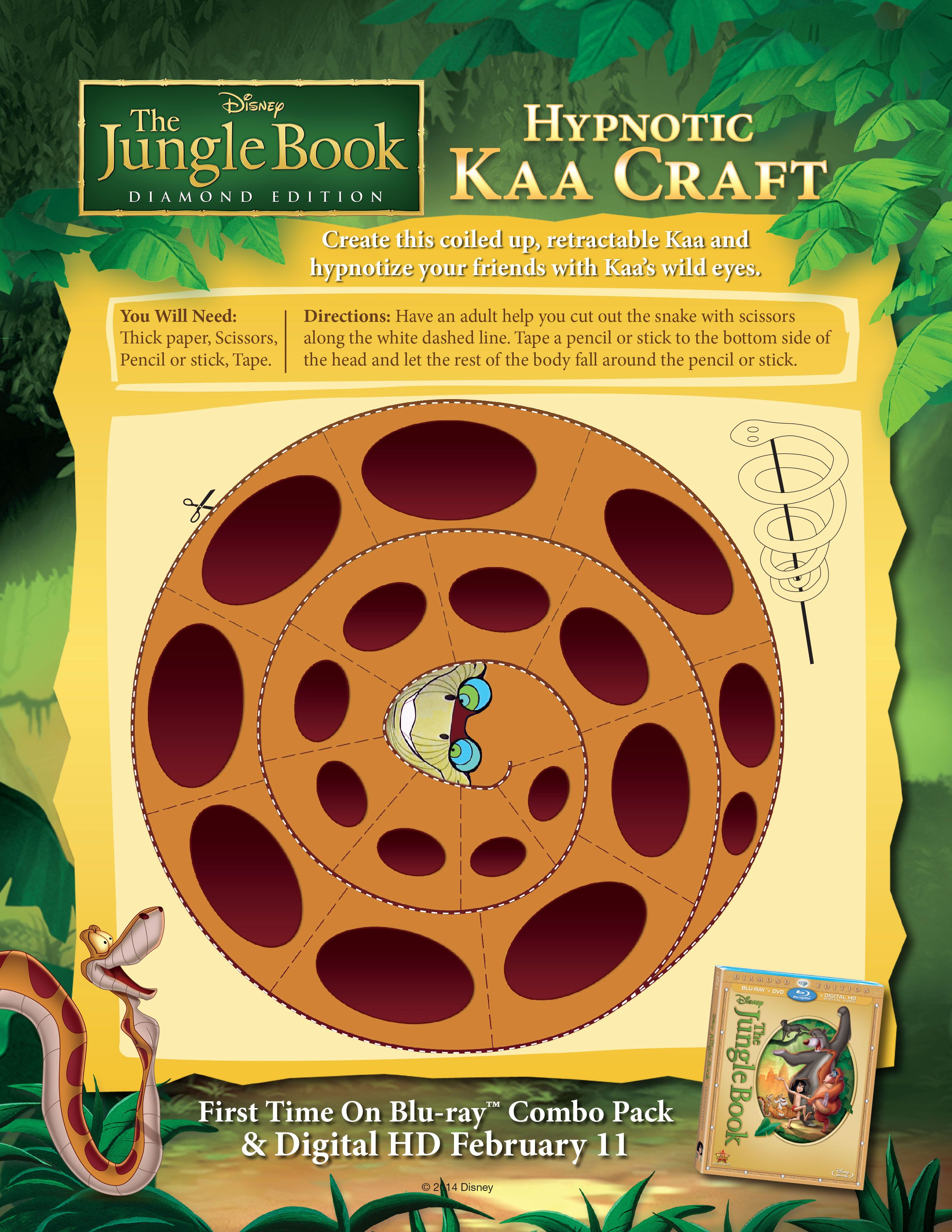 Hypnotic Kaa Craft Barenecessities