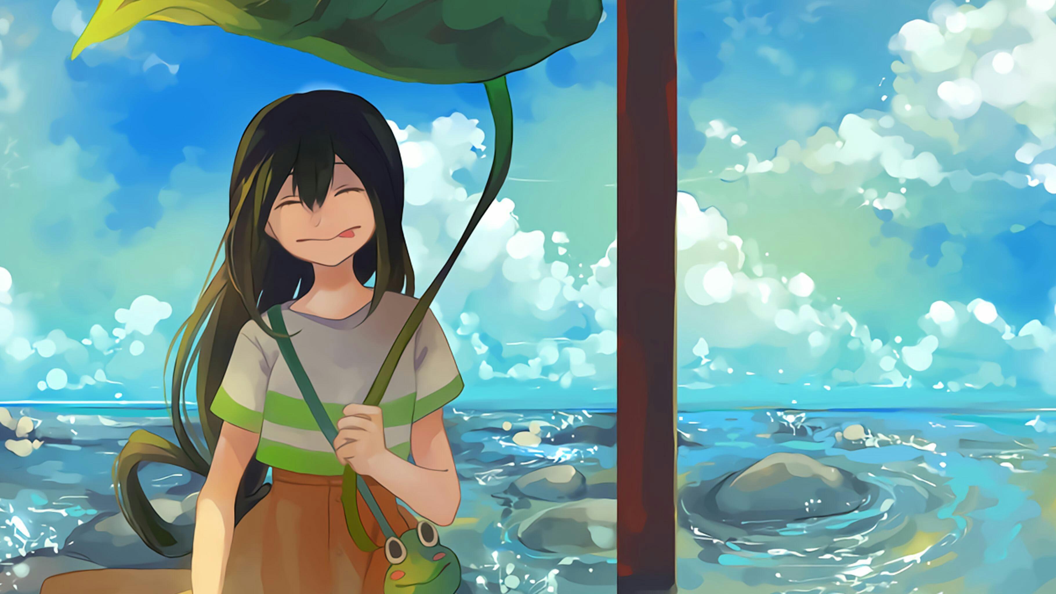 Tsuyu Asui My Hero Academia Hero Wallpaper My Hero Academia Tsuyu Tsuyu Asui
