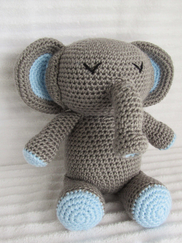 Elephant Crochet Soft Toy   Elefánt   3000x2250